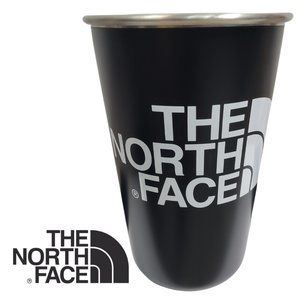 The North Face 16oz Black Steel Travel Tumbler Cup